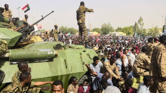 Arabs Attempting To Hijack Sudanese Revolution