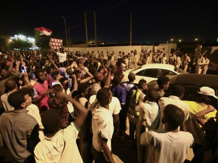 Unarmed Protesters Killed By Soldiers In Sudan's Capital Khartoum