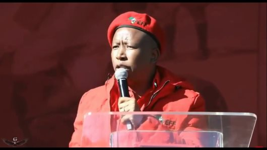 """Stop Worshipping Whiteness"" Julius Malema Tells South Africans"