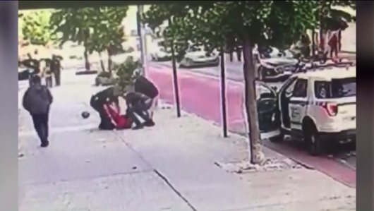 Innocent Child Attacked And Kidnapped By Group Of NYPD Race Soldiers