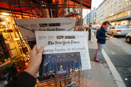 NY Times Admits To Sending Stories To The Govt For Approval Before Publication