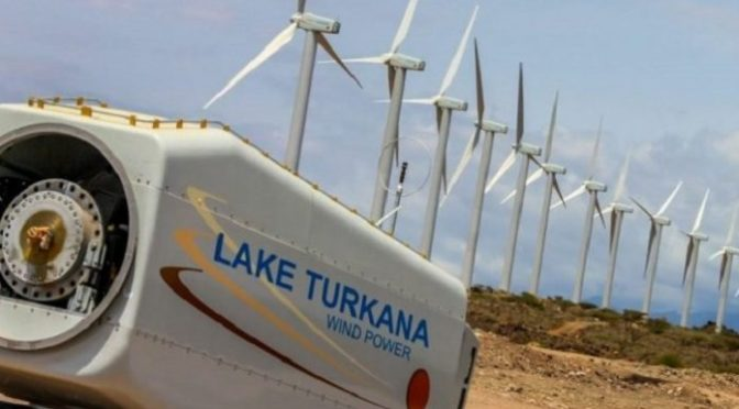 Africa's Largest Wind Farm Is Officially Up And Running