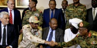 Sudan's Military, Opposition Agree on Transitional Authority
