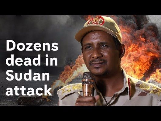 Janjaweed (RSF) Snipers Open Fire Killing Protesters In Sudan