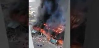 Nigerians Burn Chinese Businesses To Protest Racist Attacks?